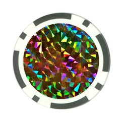 Cool Glitter Pattern Poker Chip Card Guards (10 Pack)