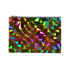 Cool Glitter Pattern Cosmetic Bag (large)  by Costasonlineshop