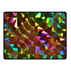 Cool Glitter Pattern Fleece Blanket (small)