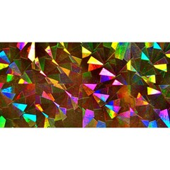Cool Glitter Pattern You Are Invited 3d Greeting Card (8x4)