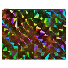Cool Glitter Pattern Cosmetic Bag (xxxl)  by Costasonlineshop