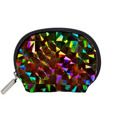 Cool Glitter Pattern Accessory Pouches (small)