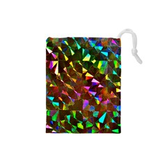 Cool Glitter Pattern Drawstring Pouches (Small)  by Costasonlineshop