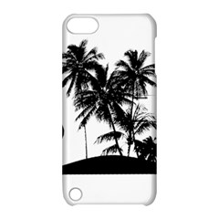 Tropical Scene Island Sunset Illustration Apple Ipod Touch 5 Hardshell Case With Stand by dflcprints