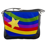 Rainbow Messenger Bag