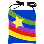 Rainbow and Star Shoulder Sling Bag