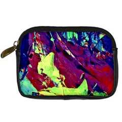 Abstract Painting Blue,yellow,red,green Digital Camera Cases