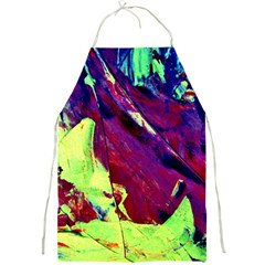 Abstract Painting Blue,yellow,red,green Full Print Aprons by Costasonlineshop