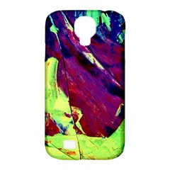 Abstract Painting Blue,yellow,red,green Samsung Galaxy S4 Classic Hardshell Case (pc+silicone) by Costasonlineshop