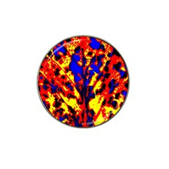 Fire Tree Pop Art Hat Clip Ball Marker (10 Pack)