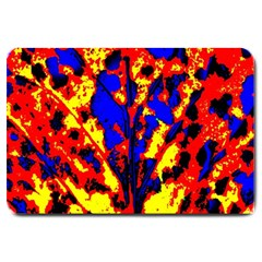 Fire Tree Pop Art Large Doormat