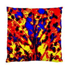 Fire Tree Pop Art Standard Cushion Case (one Side)
