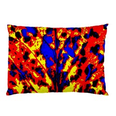 Fire Tree Pop Art Pillow Cases by Costasonlineshop