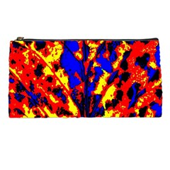 Fire Tree Pop Art Pencil Cases