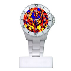 Fire Tree Pop Art Nurses Watches