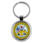 ARMY SEAL Key Chain (Round)