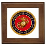 MARINE CORP SEAL Framed Tile
