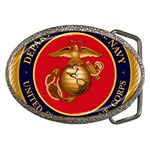 MARINE CORP SEAL Belt Buckle