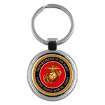 MARINE CORP SEAL Key Chain (Round)