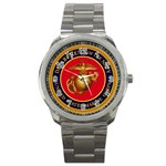 MARINE CORP SEAL Sport Metal Watch