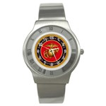 MARINE CORP SEAL Stainless Steel Watch