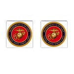 MARINE CORP SEAL Cufflinks (Square)