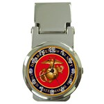MARINE CORP SEAL Money Clip Watch