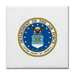 AIR FORCE SEAL Tile Coaster