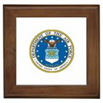AIR FORCE SEAL Framed Tile
