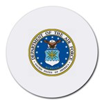 AIR FORCE SEAL Round Mousepad