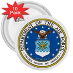 AIR FORCE SEAL 3  Button (10 pack)