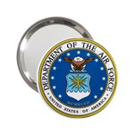 AIR FORCE SEAL 2.25  Handbag Mirror