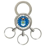 AIR FORCE SEAL 3-Ring Key Chain