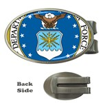 AIR FORCE SEAL Money Clip (Oval)