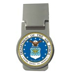 AIR FORCE SEAL Money Clip (Round)