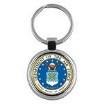 AIR FORCE SEAL Key Chain (Round)