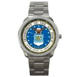 AIR FORCE SEAL Sport Metal Watch