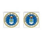 AIR FORCE SEAL Cufflinks (Square)