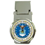 AIR FORCE SEAL Money Clip Watch