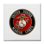 MARINE SEAL Tile Coaster