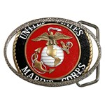MARINE SEAL Belt Buckle