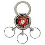 MARINE SEAL 3-Ring Key Chain