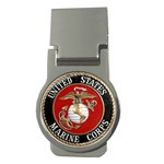 MARINE SEAL Money Clip (Round)
