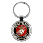 MARINE SEAL Key Chain (Round)