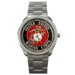 MARINE SEAL Sport Metal Watch