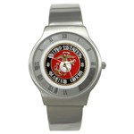 MARINE SEAL Stainless Steel Watch