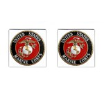 MARINE SEAL Cufflinks (Square)