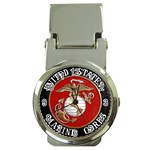 MARINE SEAL Money Clip Watch