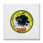 AF CIVIL ENG PRIME BEEF Tile Coaster
