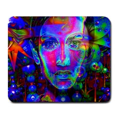 Night Dancer Large Mousepads by icarusismartdesigns